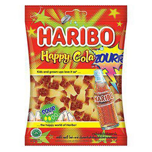 Kẹo Dẻo Haribo Happy Cola Sour Fresh (80g) - 915097 , 8691216090491 , 62_1751507 , 24000 , Keo-Deo-Haribo-Happy-Cola-Sour-Fresh-80g-62_1751507 , tiki.vn , Kẹo Dẻo Haribo Happy Cola Sour Fresh (80g)