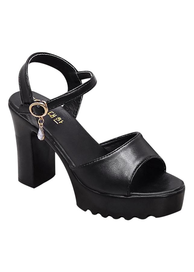 Giày Sandal Cao Gót Nữ Đế Vuông 6354