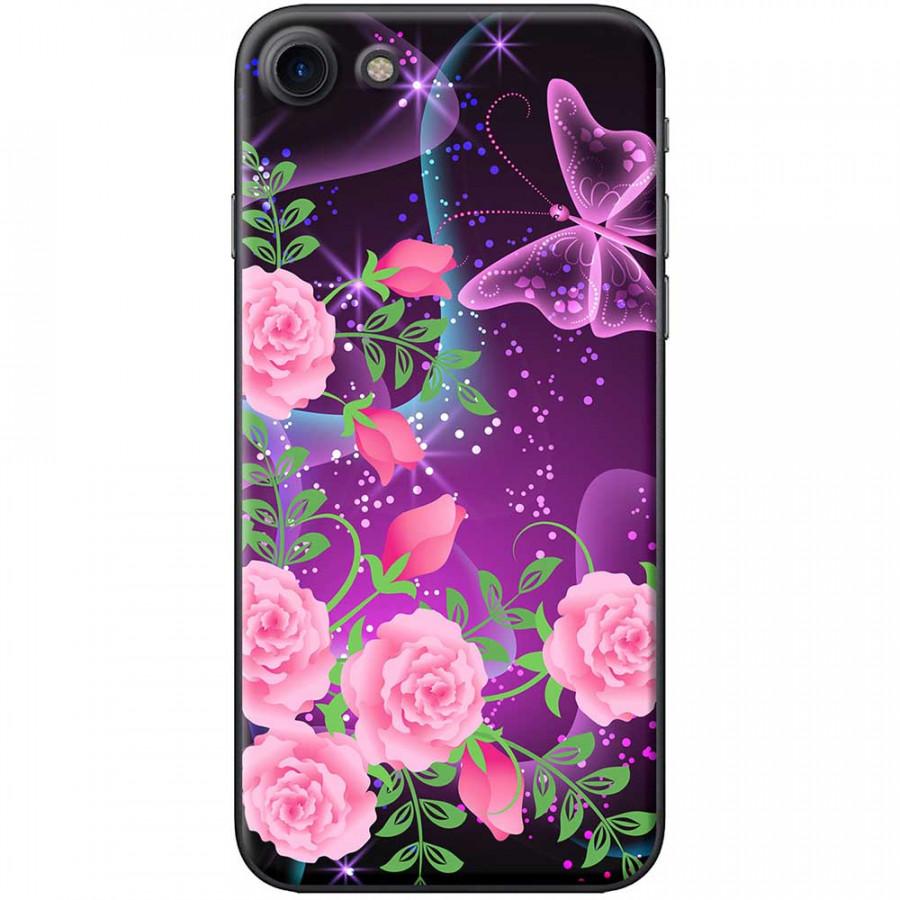 Ốp lưng  dành cho iPhone 7, iPhone 8 mẫu Hoa hồng bướm tím - 18552439 , 8405867656834 , 62_20564253 , 150000 , Op-lung-danh-cho-iPhone-7-iPhone-8-mau-Hoa-hong-buom-tim-62_20564253 , tiki.vn , Ốp lưng  dành cho iPhone 7, iPhone 8 mẫu Hoa hồng bướm tím