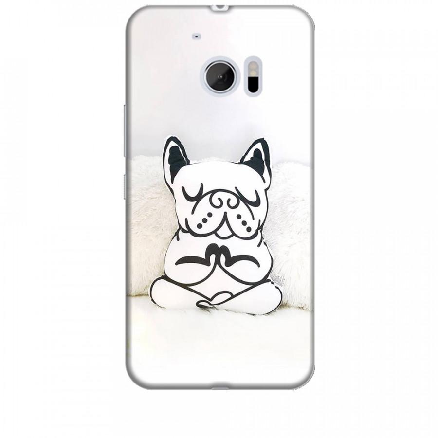 Ốp lưng dành cho điện thoại HTC 10 Cún Con Dễ Thương Mẫu 3