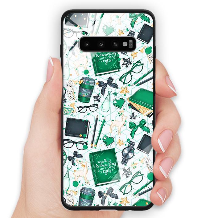 Ốp Lưng Kính Cường Lực Cho Điện Thoại Samsung Galaxy S10 Plus - 391 0062 DREAM04 - Hàng Chính Hãng