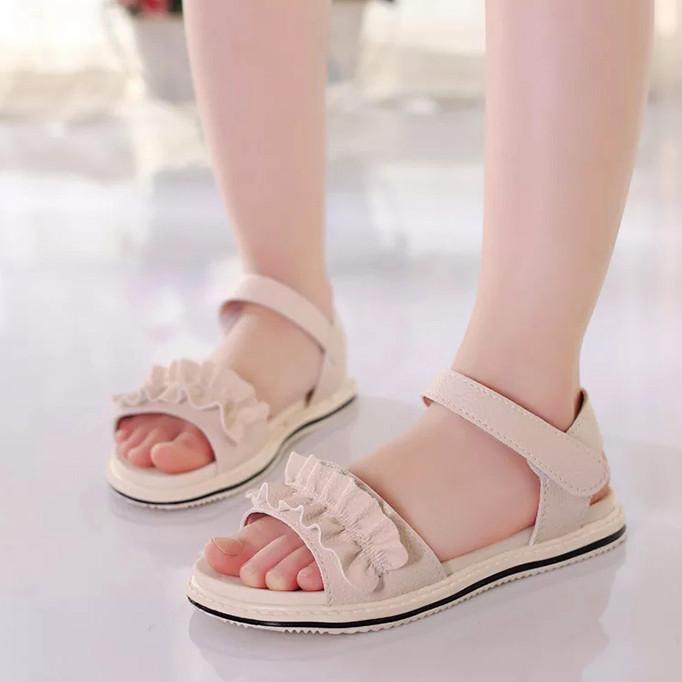 Giày sandal đơn giản cho bé gái 4-10 tuổi đáng yêu – S12 - 2373427 , 8155839287244 , 62_15598629 , 240000 , Giay-sandal-don-gian-cho-be-gai-4-10-tuoi-dang-yeu-S12-62_15598629 , tiki.vn , Giày sandal đơn giản cho bé gái 4-10 tuổi đáng yêu – S12