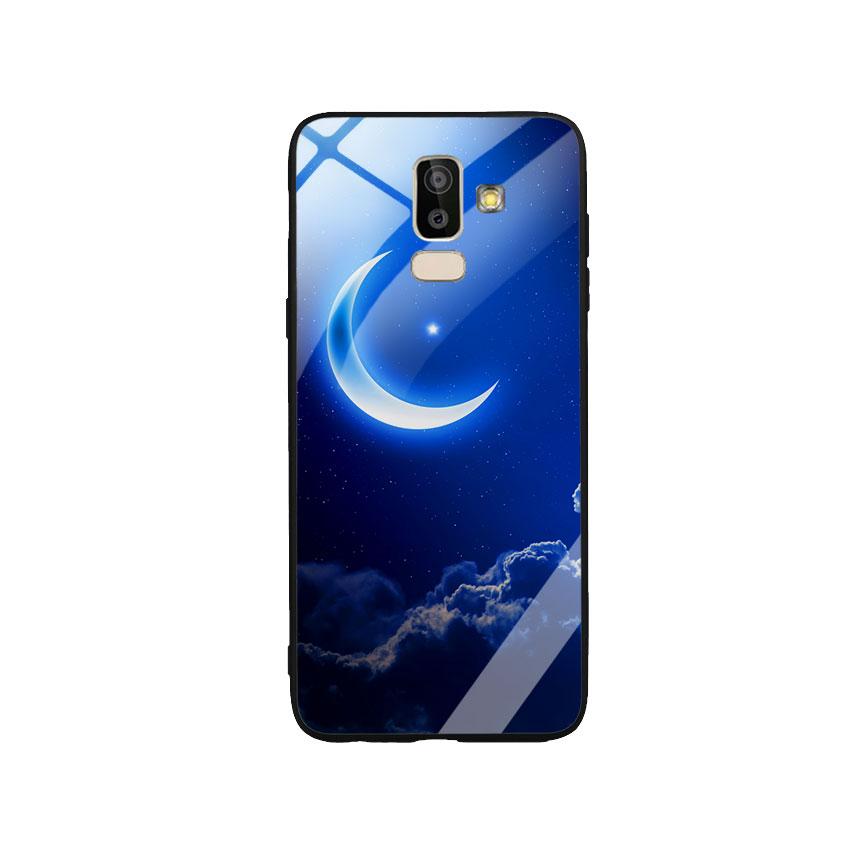 Ốp Lưng Kính Cường Lực cho điện thoại Samsung Galaxy J8 -  0220 MOON01