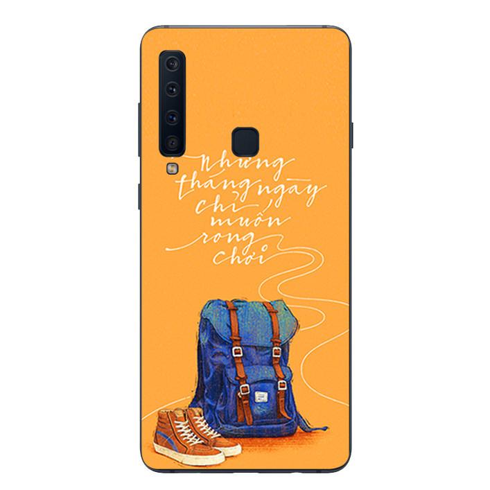 Ốp lưng Dẻo Cho Samsung Galaxy A9 2018 - Tháng ngày rong chơi