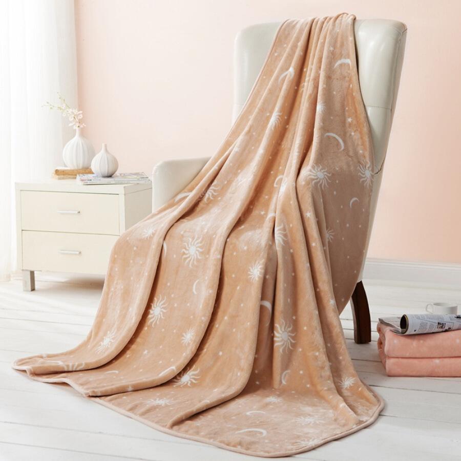 Sleeping treasure (somerelle) blanket flannel blanket light camel 150 * 200cm - 4774340 , 6675858891328 , 62_10480985 , 882000 , Sleeping-treasure-somerelle-blanket-flannel-blanket-light-camel-150-200cm-62_10480985 , tiki.vn , Sleeping treasure (somerelle) blanket flannel blanket light camel 150 * 200cm