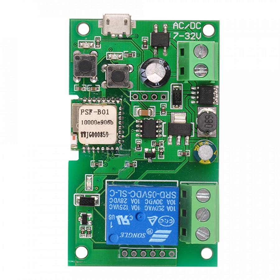 EweLink DC5V 12V 24V 32V Wifi Switch Wireless Relay Module Smart Home Automation Modules Phone APP Remote Control - 2364660 , 8228083414176 , 62_15456166 , 1156000 , EweLink-DC5V-12V-24V-32V-Wifi-Switch-Wireless-Relay-Module-Smart-Home-Automation-Modules-Phone-APP-Remote-Control-62_15456166 , tiki.vn , EweLink DC5V 12V 24V 32V Wifi Switch Wireless Relay Module Sma