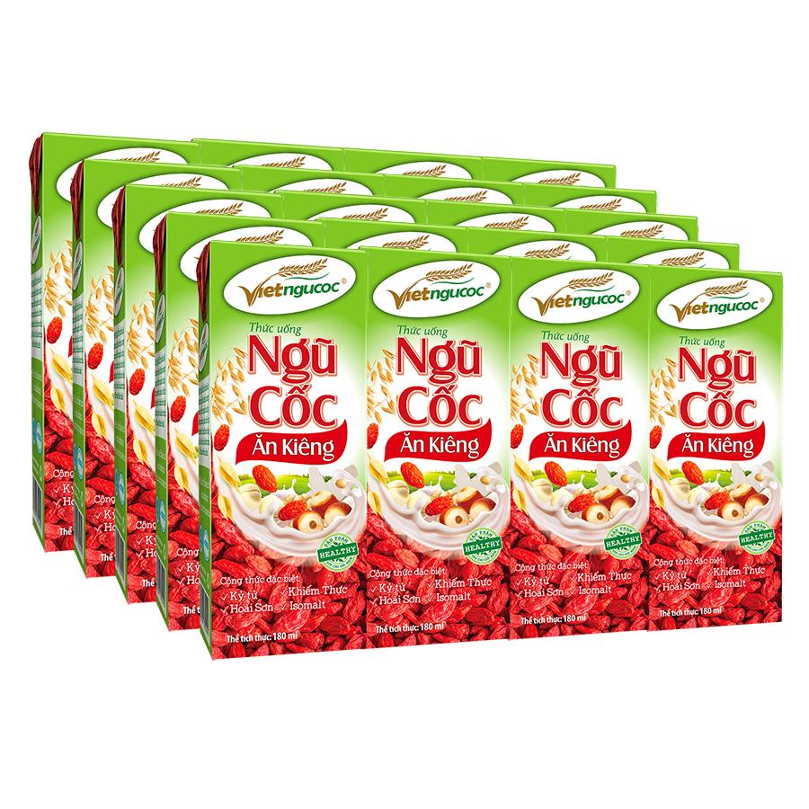 Ngũ cốc ăn kiêng uống liền Bộ 5 Lốc 4 Hộp (180ml/Hộp) - 1207075 , 3949116615340 , 62_5068275 , 152500 , Ngu-coc-an-kieng-uong-lien-Bo-5-Loc-4-Hop-180ml-Hop-62_5068275 , tiki.vn , Ngũ cốc ăn kiêng uống liền Bộ 5 Lốc 4 Hộp (180ml/Hộp)