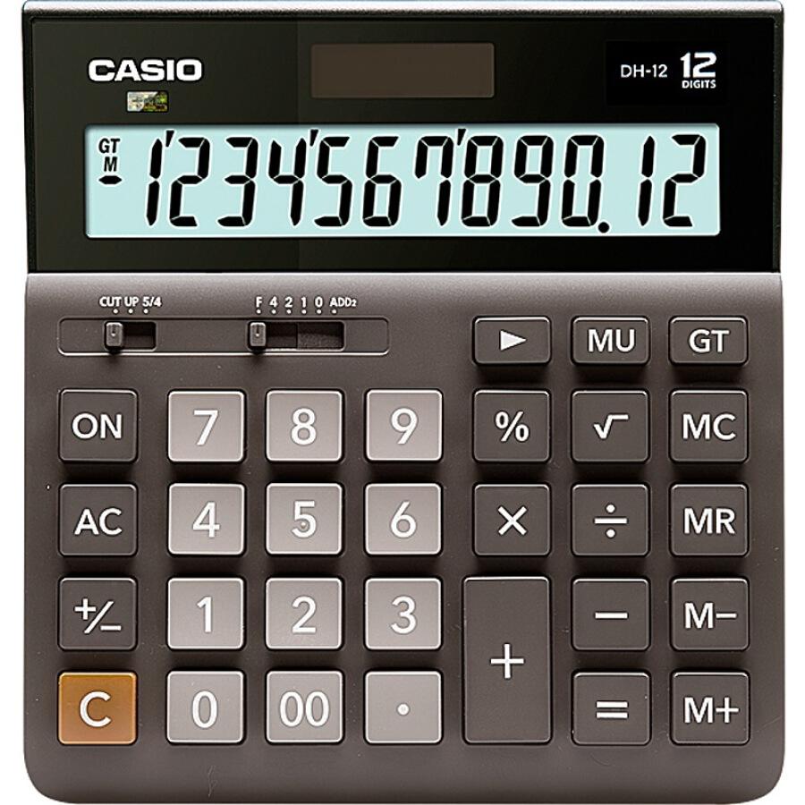 Máy Tính CASIO 12-Bit DH-12-BK Medium