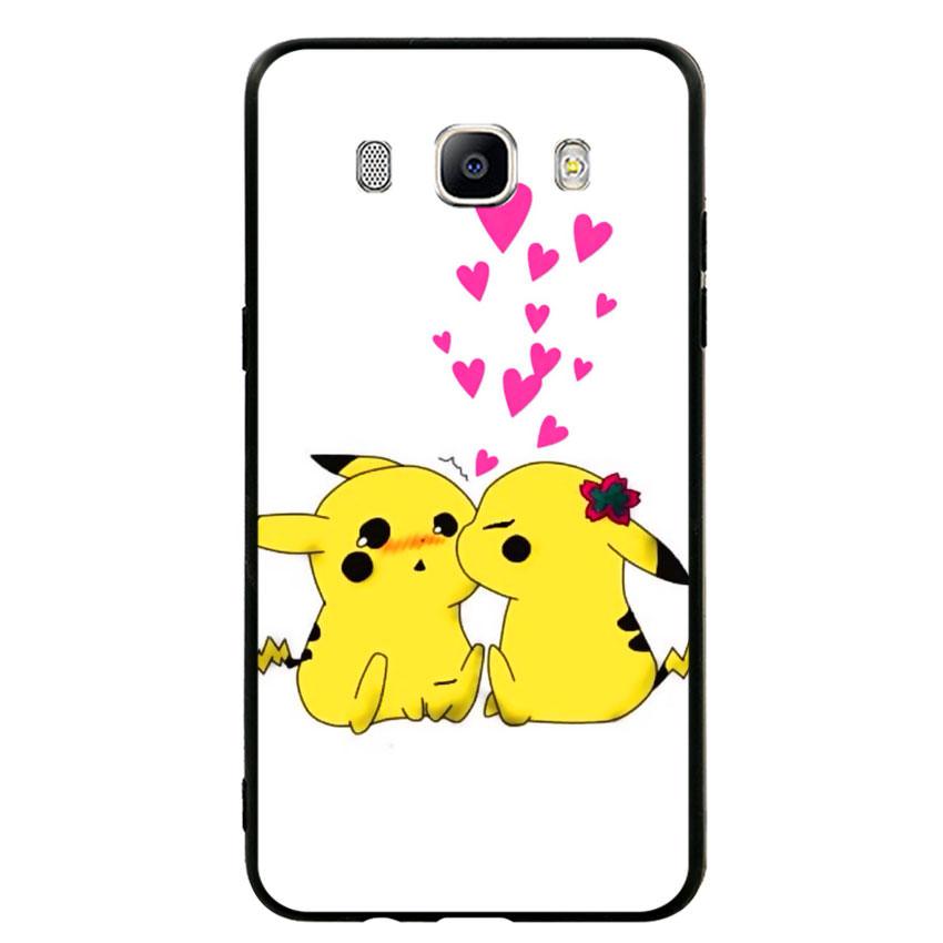 Ốp lưng viền TPU cho điện thoại Samsung Galaxy J5 2016 - Pikachu 02