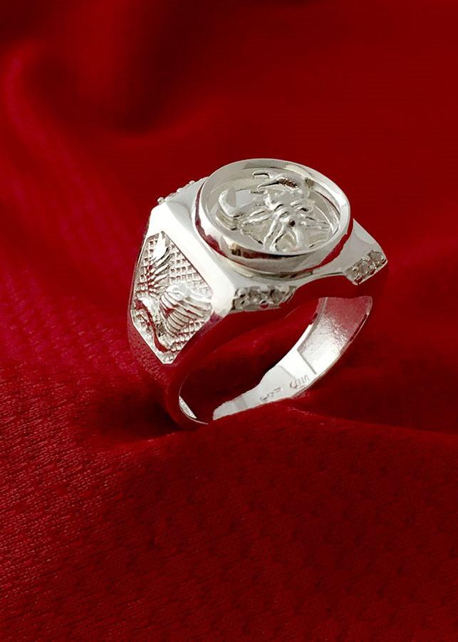 Nhẫn nam bọc cạp  bạc ta cao cấp Bạc QTJ - NA18(BẠC) - 1020641 , 4890268248032 , 62_5896467 , 399000 , Nhan-nam-boc-cap-bac-ta-cao-cap-Bac-QTJ-NA18BAC-62_5896467 , tiki.vn , Nhẫn nam bọc cạp  bạc ta cao cấp Bạc QTJ - NA18(BẠC)