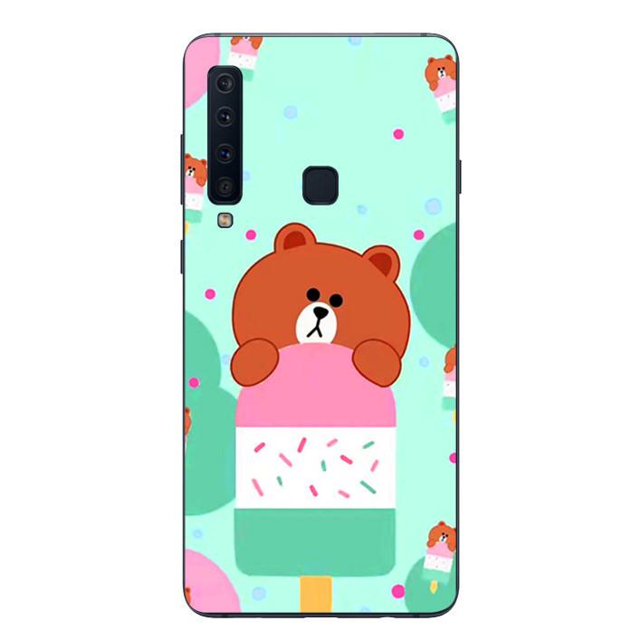 Ốp lưng Dẻo Cho Samsung Galaxy A9 2018 - Gấu Brown 04