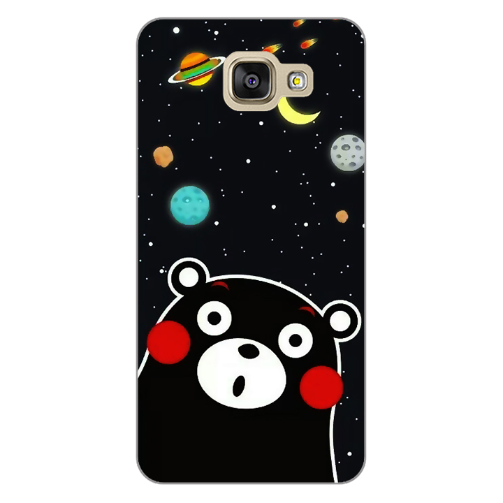 Ốp lưng dẻo Nettacase cho điện thoại Samsung Galaxy A5 2016 _0345 BEAR03 - Hàng Chính Hãng