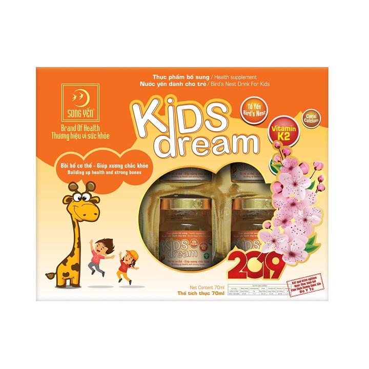 Nước Yến Kids Dream Song Yến (Lốc 6 x 70ml)