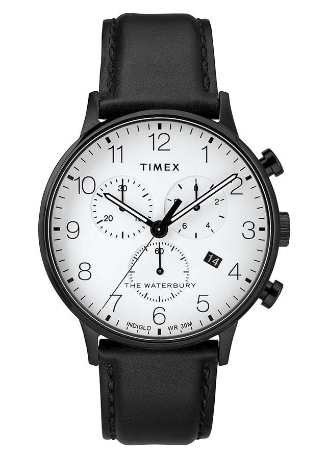 Đồng Hồ Nam Dây Da Timex Waterbury Classic Chronograph 40mm - TW2R72300