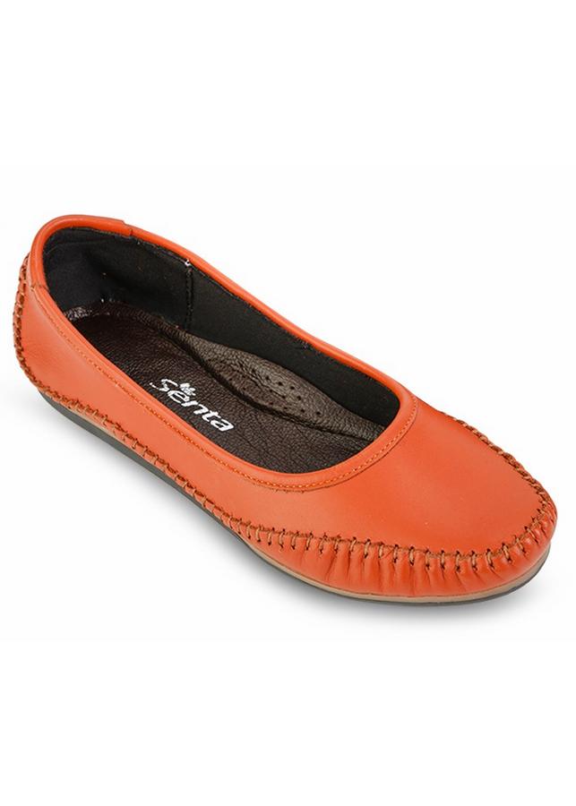 Giày Búp Bê Nữ - Cam