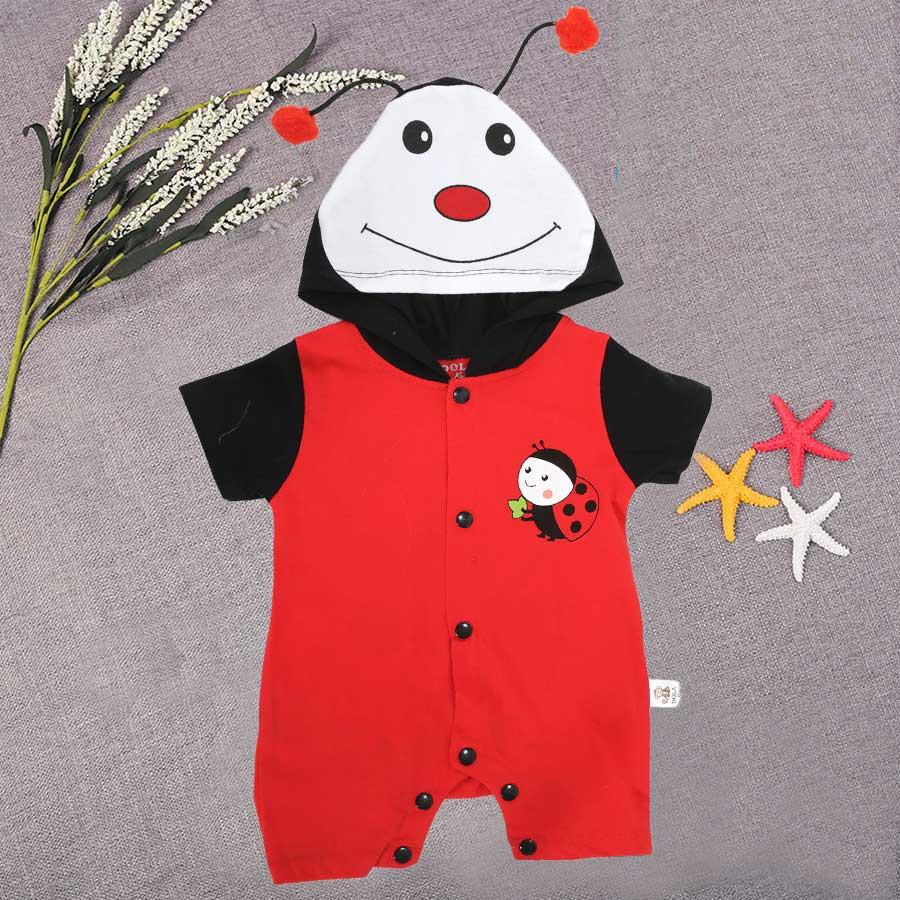 Quần áo sơ sinh hình thú Ong Đỏ DL0023
