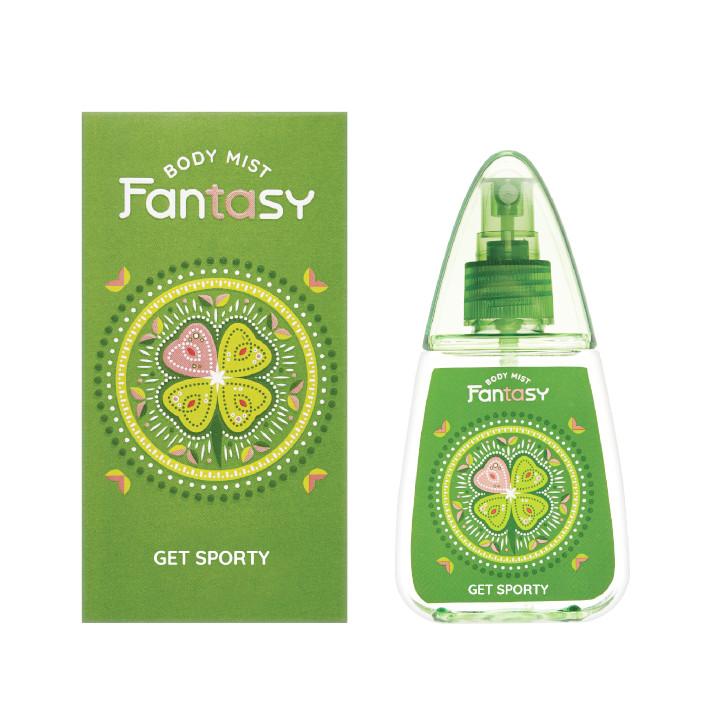 Nước hoa toàn thân Fantasy- Get sporty 100 ml chính hãng