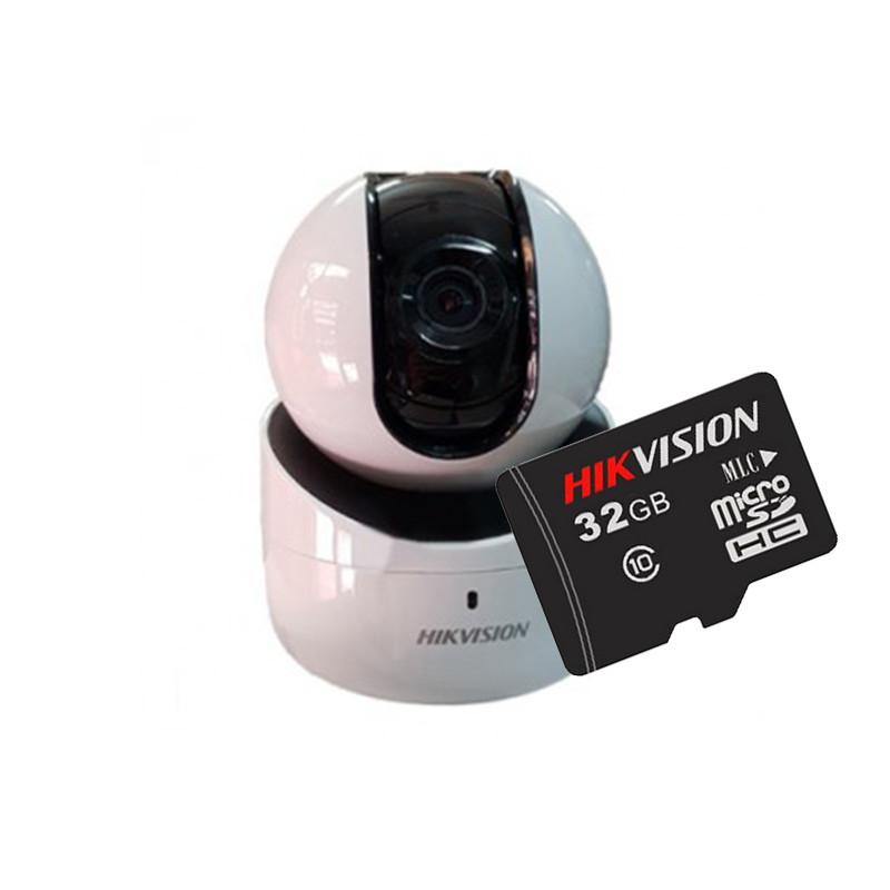 Camera IP Robot Wifi Hikvision DS-2CV2Q01EFD-IW + Tặng thẻ nhớ Hikvision 32GB
