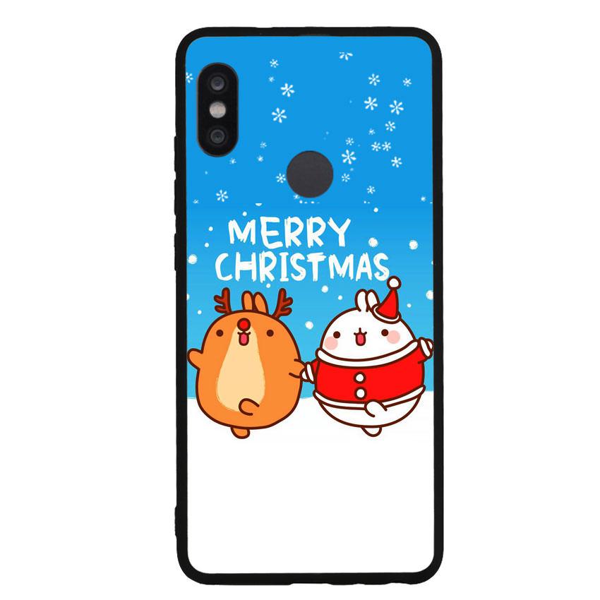 Ốp lưng viền TPU cho điện thoại Xiaomi Redmi Note 5 Pro - Christmas 02