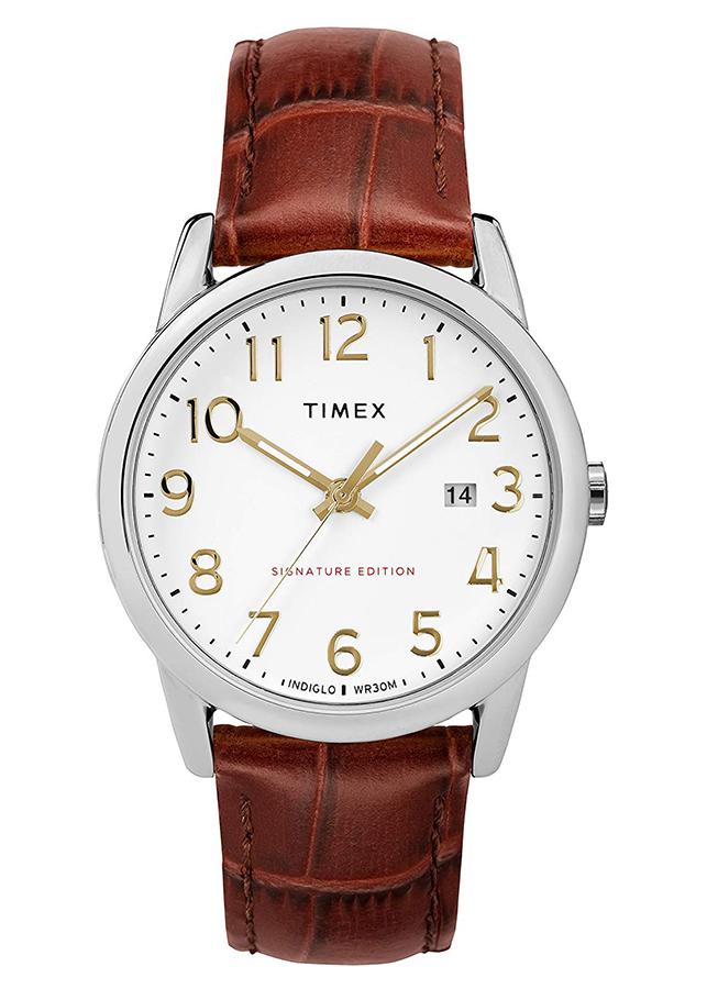 Đồng Hồ Dây Da Nam Timex Easy Reader Signature - TW2R65000