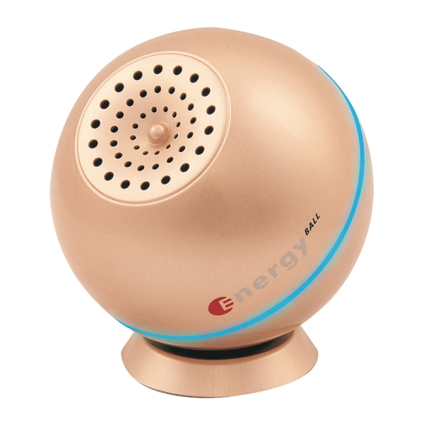 Máy lọc khí xe hơi, khử mùi, kháng khuẩn Energy Ball - Rose Gold Antibac2K - Hàng Chính Hãng