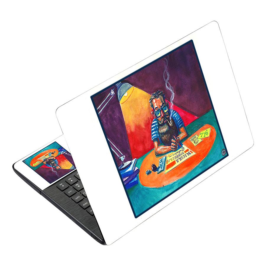 Miếng Dán Decal Dành Cho Laptop Mẫu Nghệ Thuật LTNT-490
