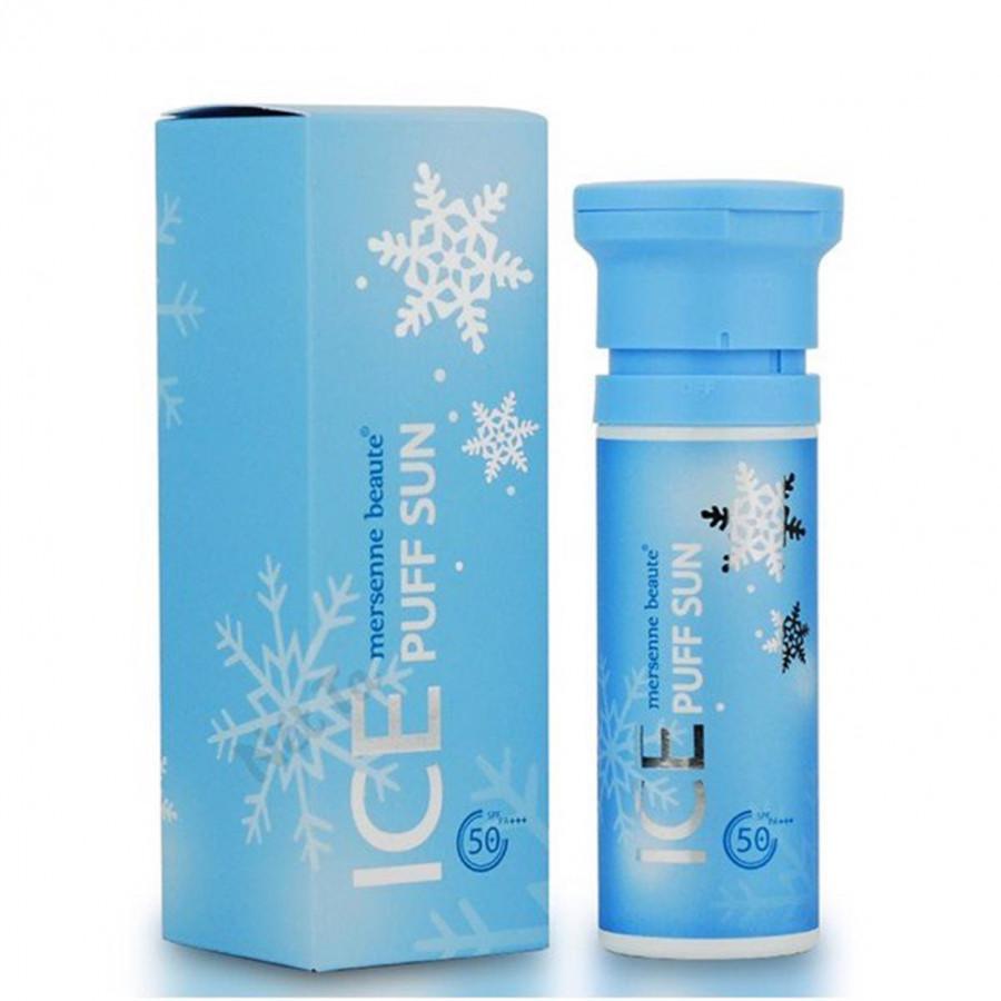 Kem Chống Nắng Make up Mát Lạnh Ice Puff Sun Mersenne Beaute SPF50+ PA+ (100ml) - Chính hãng