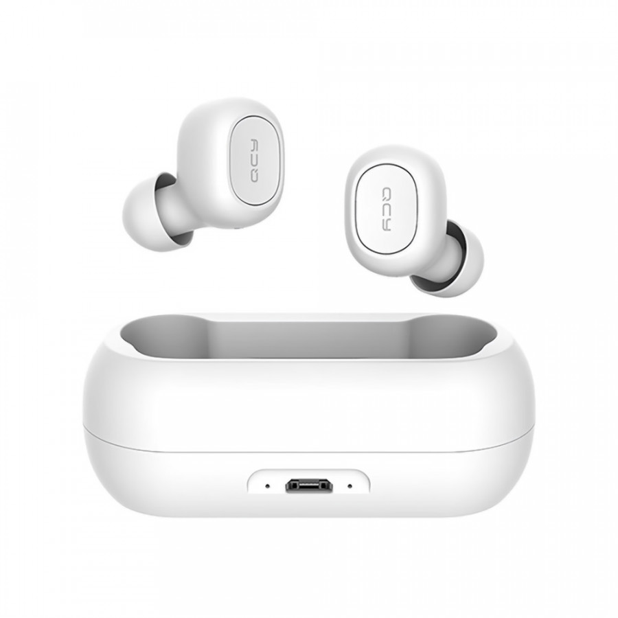 Xiaomi QCY T1C Youth Version Mini Dual V5.0 Wireless Earphones BT Earphones 3D Stereo Sound Earbuds with Dual Microphone
