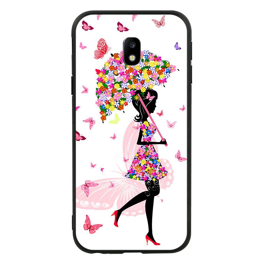 Ốp lưng viền TPU cho Samsung Galaxy J3 Pro 2017 - Beautiful Girl
