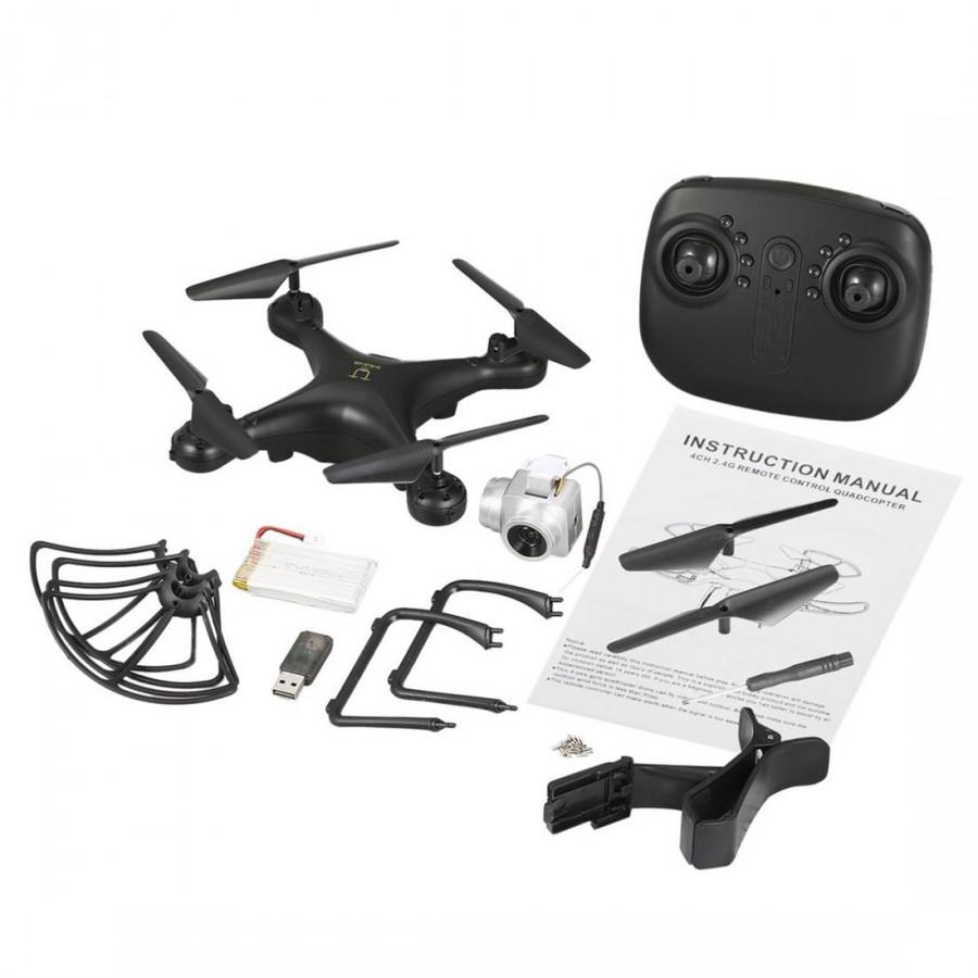 Flycam Điều Khiển Từ Xa Quadcopter RC Utoghter 69601 (Camera 720P HD Wifi FPV) - 1707593 , 5889315199105 , 62_11861895 , 1586000 , Flycam-Dieu-Khien-Tu-Xa-Quadcopter-RC-Utoghter-69601-Camera-720P-HD-Wifi-FPV-62_11861895 , tiki.vn , Flycam Điều Khiển Từ Xa Quadcopter RC Utoghter 69601 (Camera 720P HD Wifi FPV)