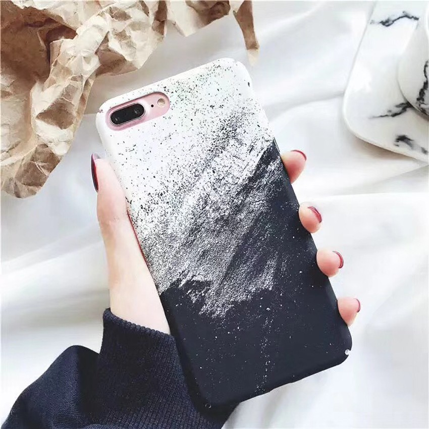 Painting Ultra Thin Phone Cases For iPhone 6 6s Plus Shockproof PC Hard Back Covers For iPhone 7 Plus  Shell