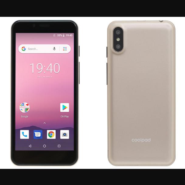 Điện Thoại Smartphone Cấu Hình Cao Chơi Game Tốt Coolpad N3 Mini(Gold) CPU 4 Nhân Màn Tràn Viền  2 Sim Online Camera Kép -...