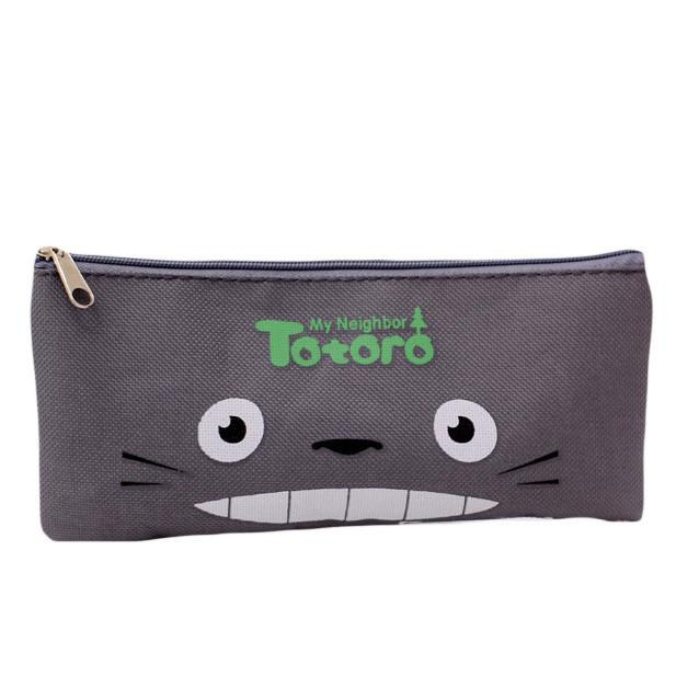 Bóp Bút Viết Vải In Hình Totoro