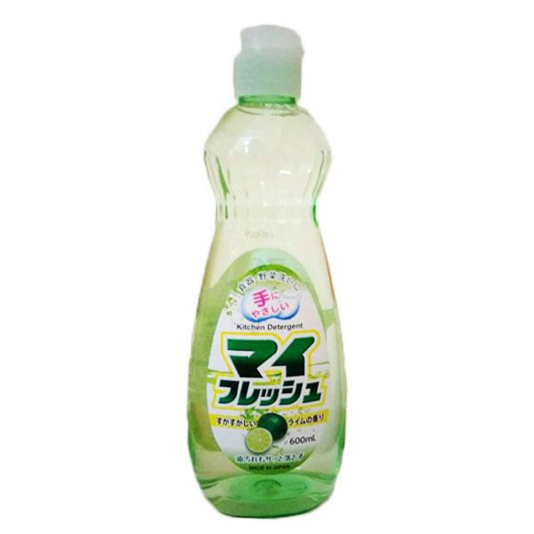Nước rửa bát Timely Fresh hương chanh 600ml nội địa Nhật Bản