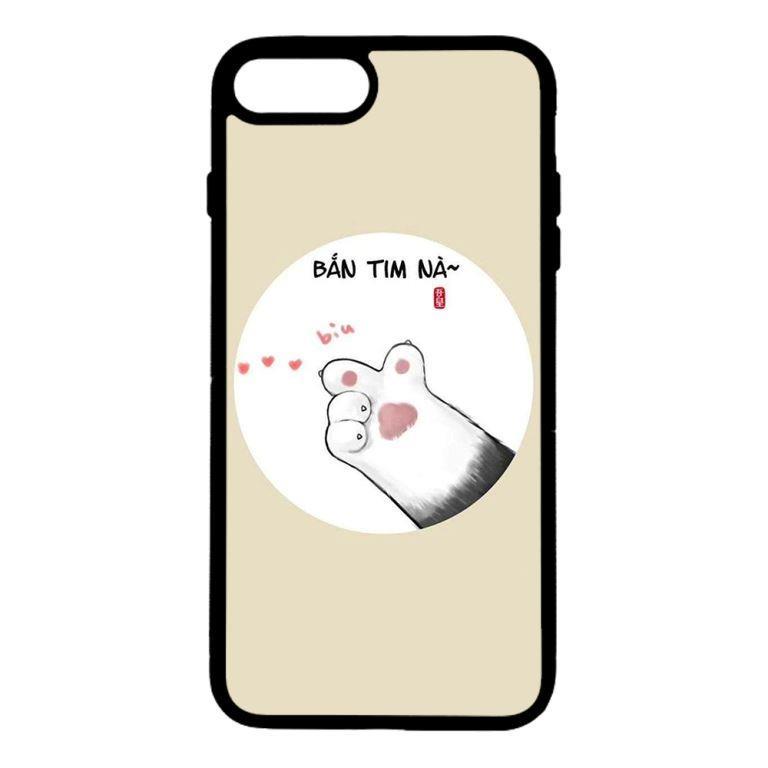Ốp lưng dành cho điện thoại Iphone 7 Plus Bắn Tim Nà