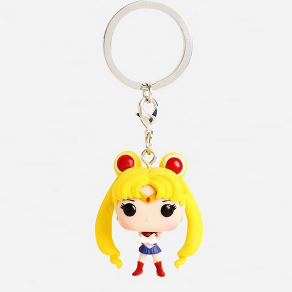 Móc Khóa Sailor Chibi Moon Yellow