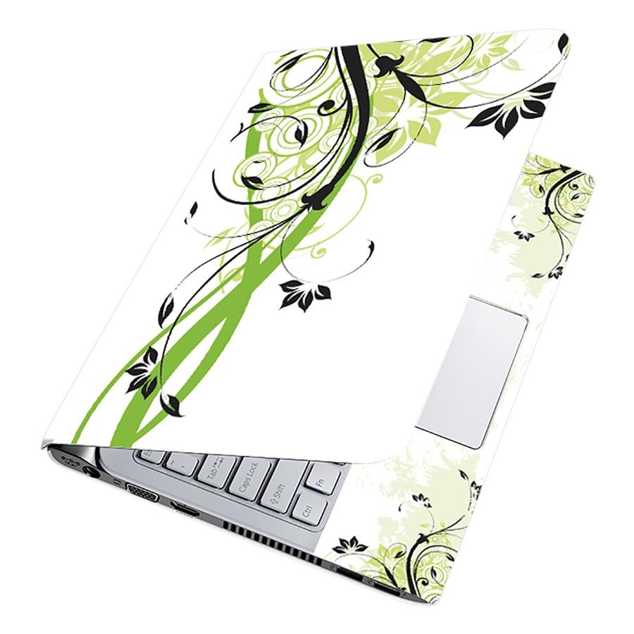 Miếng Dán Decal Dành Cho Laptop Mẫu Hoa Văn LTHV-101