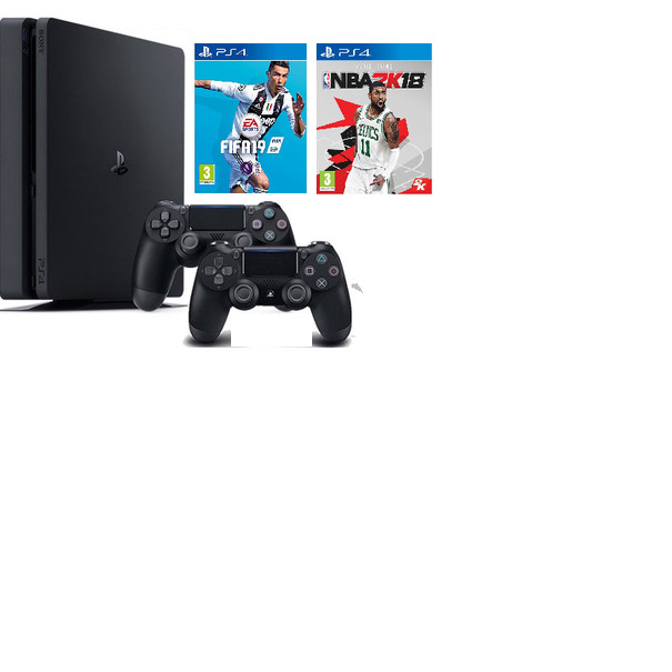 Máy PS4 Slim 1TB + 2 tay cầm + Tặng 2 đĩa game (chính hãng) - 4823377 , 4350451913067 , 62_15327140 , 10000000 , May-PS4-Slim-1TB-2-tay-cam-Tang-2-dia-game-chinh-hang-62_15327140 , tiki.vn , Máy PS4 Slim 1TB + 2 tay cầm + Tặng 2 đĩa game (chính hãng)