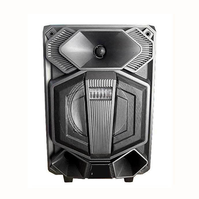 Loa kẹo kéo karaoke Bluetooth zl808 kèm 1 micro có nút bass treble