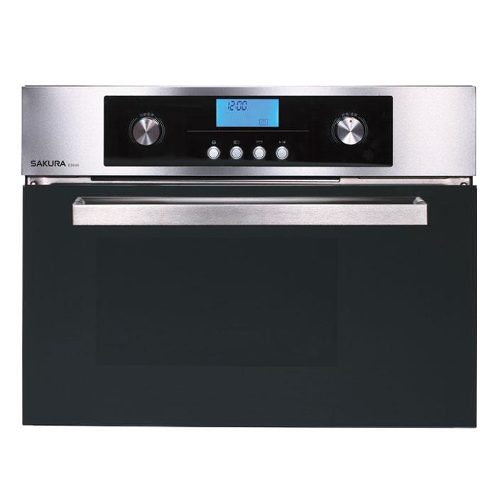 Lò Nướng Âm + Hấp Sakura E-8690 Steamer Oven