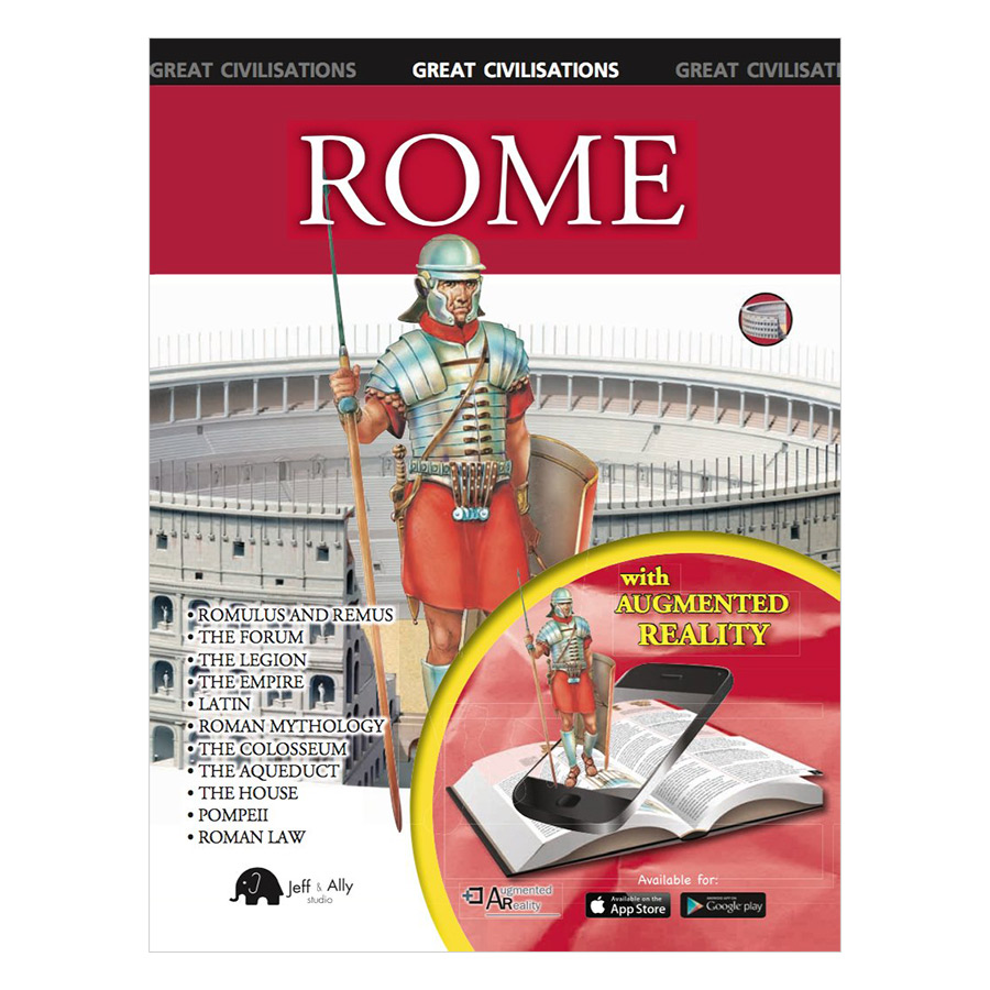 Rome (Augmented Reality) - Sách 3D