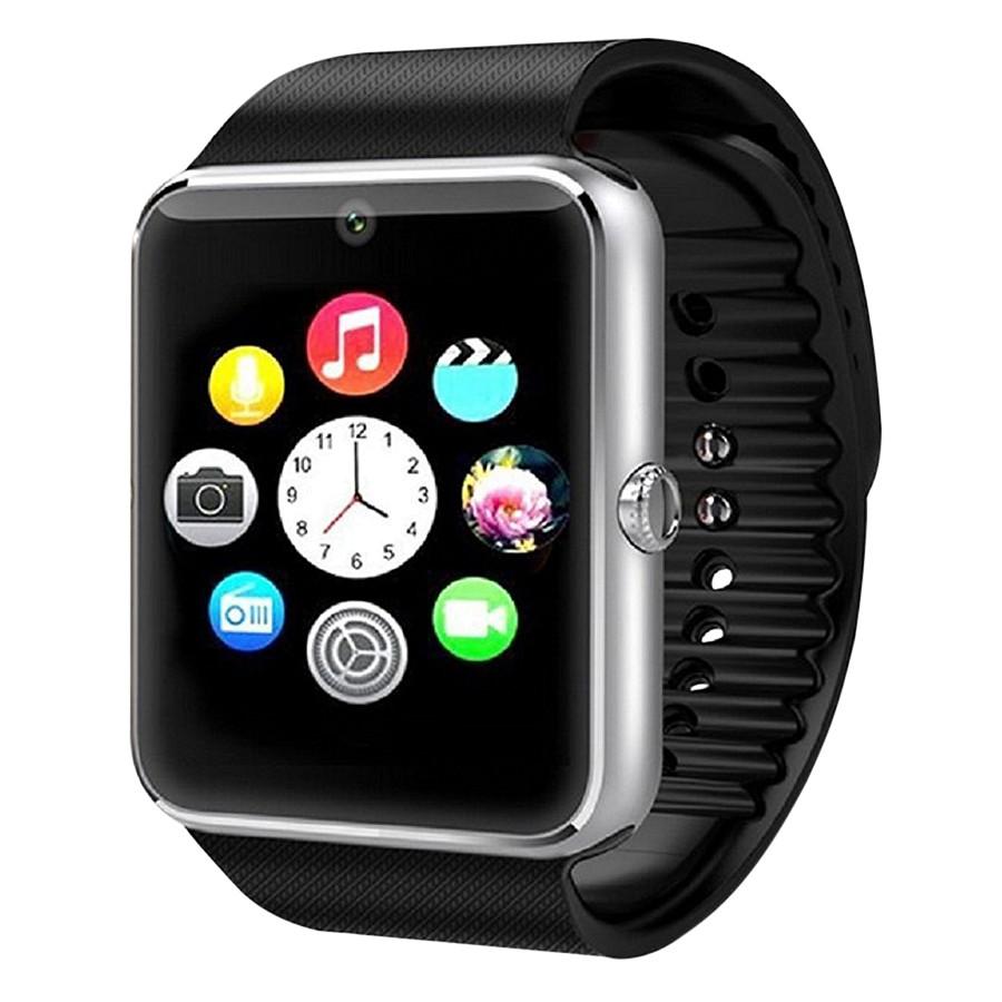 Đồng hồ thông minh Panda GT08 (Đen bạc) - 916641 , 3107048975264 , 62_1783053 , 450000 , Dong-ho-thong-minh-Panda-GT08-Den-bac-62_1783053 , tiki.vn , Đồng hồ thông minh Panda GT08 (Đen bạc)
