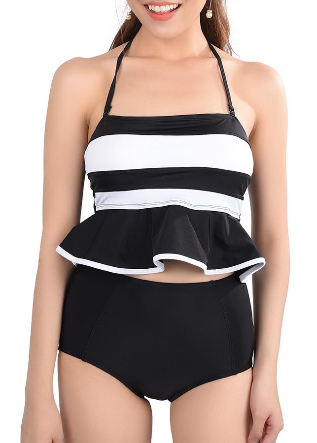 Bikini Lưng Cao Áo Bèo P2P Bikini BLC05-O