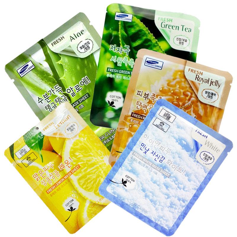 Combo 5 Mặt Nạ Dưỡng Da 5 Tinh Chất Với Chanh Tươi, Nha Đam, Trắng Sữa, Trà Xanh, Sữa Ong Chúa- 3W Clinic Lemon, Aloe,... - 760850 , 6771542063412 , 62_8388126 , 189000 , Combo-5-Mat-Na-Duong-Da-5-Tinh-Chat-Voi-Chanh-Tuoi-Nha-Dam-Trang-Sua-Tra-Xanh-Sua-Ong-Chua-3W-Clinic-Lemon-Aloe...-62_8388126 , tiki.vn , Combo 5 Mặt Nạ Dưỡng Da 5 Tinh Chất Với Chanh Tươi, Nha Đam, Trắn