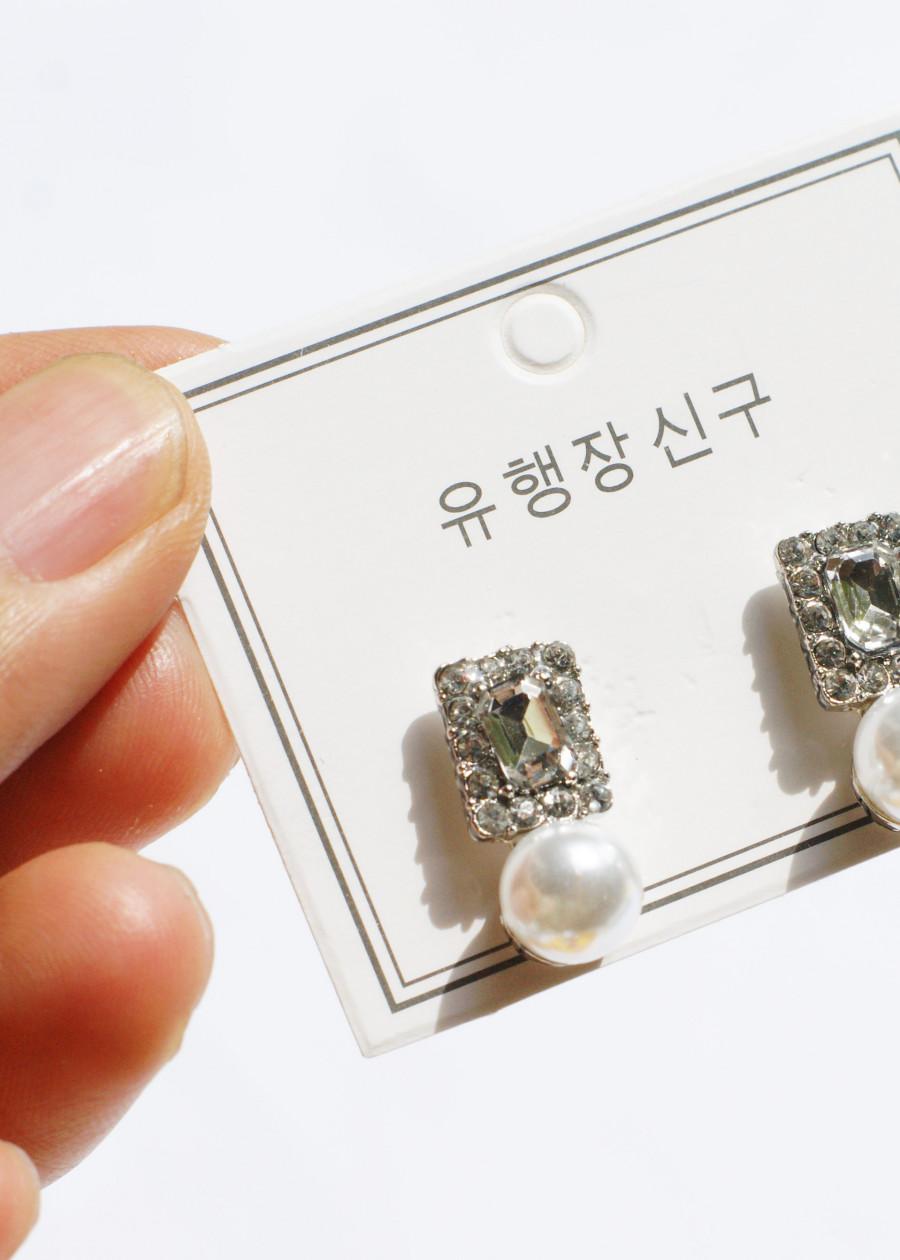 Bông tai Hàn Quốc - Hoa tai đẹp sang chảnh - Khuyên tai đi dự tiệc, đám cưới, sinh nhật