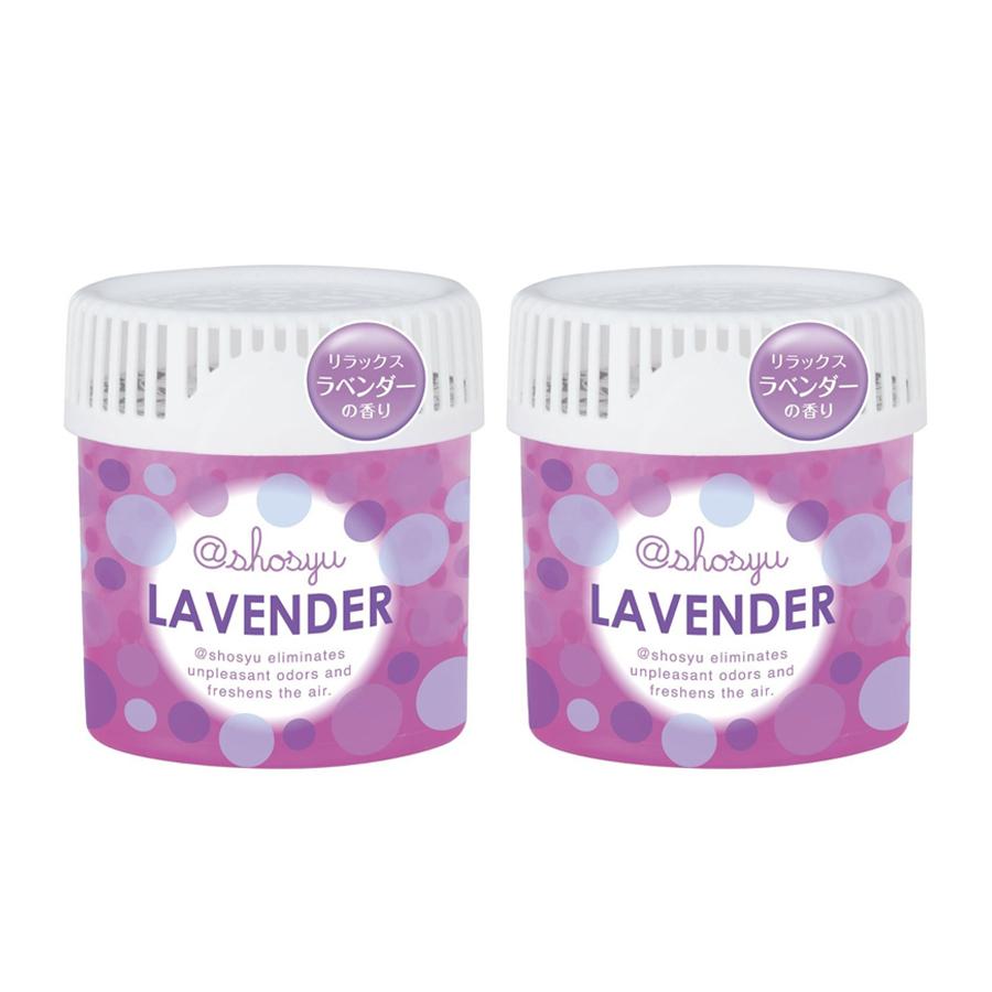Hộp Khử Mùi Thơm Phòng Hương Lavender Thơm Mát  150g - Nội Địa Nhật Bản
