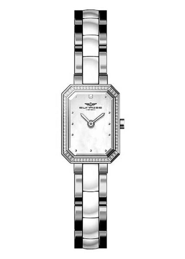 Đồng hồ nữ dây thép không ghỉ SL8851.2303