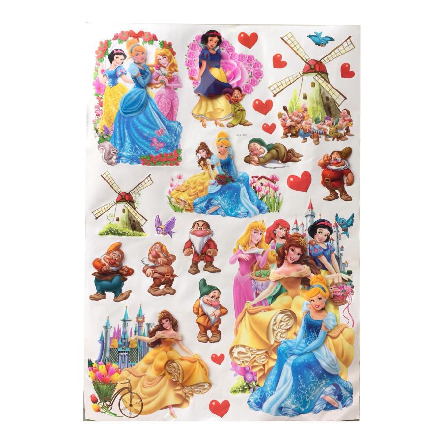 Tấm decal 3D (sticker) dán tường cho bé 60cm x 90cm chủ đề Các nàng công chúa - 7597672 , 1534463597269 , 62_17037077 , 90000 , Tam-decal-3D-sticker-dan-tuong-cho-be-60cm-x-90cm-chu-de-Cac-nang-cong-chua-62_17037077 , tiki.vn , Tấm decal 3D (sticker) dán tường cho bé 60cm x 90cm chủ đề Các nàng công chúa