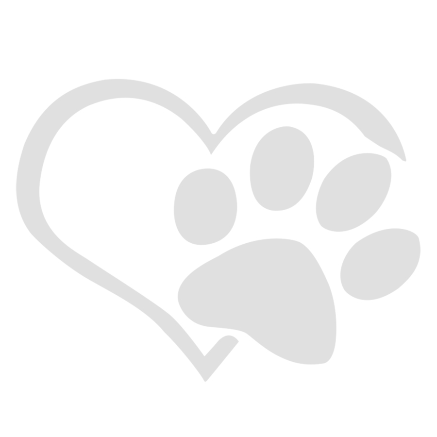 Dog Heart Shape Pattern Paws Laptop Car Sticker Reflective Auto Waterproof