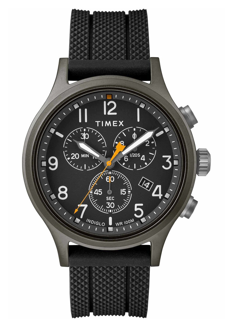 Đồng hồ Nam Timex Allied Chronograph Silicone Strap Watch - TW2R60400 (42mm) - 766353 , 5370214893886 , 62_9727875 , 4560000 , Dong-ho-Nam-Timex-Allied-Chronograph-Silicone-Strap-Watch-TW2R60400-42mm-62_9727875 , tiki.vn , Đồng hồ Nam Timex Allied Chronograph Silicone Strap Watch - TW2R60400 (42mm)